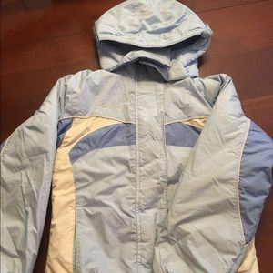 Columbia Youth Reversible Winter Jacket Size 10/12